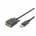 Cable Digitus Display Port Macho / DVI-D Macho 2M