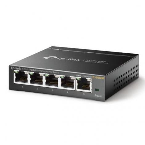 Switch TP-LINK TL-SG105E 10/100/1000 5 Puertos