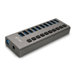 HUB I-TEC USB 3.0 10 Puertos USB 3.0 On/Off