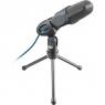 Microfono Mano Trust Mico USB Black