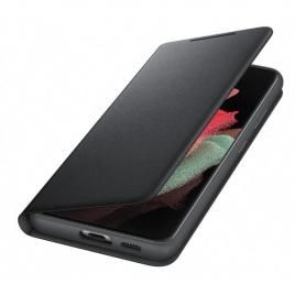 Funda Movil Samsung LED View Cover Black para Samsung Galaxy S21 Ultra