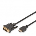 Cable Digitus DVI 18+1 Macho / 19 Hembra 2M