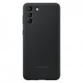 Funda Movil Samsung Silicone Cover Black para Samsung Galaxy S21 Plus