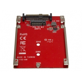 Adaptador Startech PCIE M.2 a U.2 SFF-8639