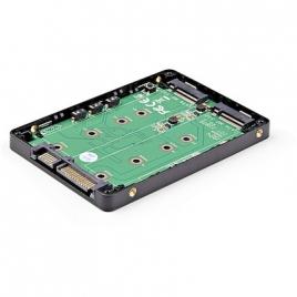 """Adaptador Startech SSD M.2 Doble a 2.5"""" Sata"""