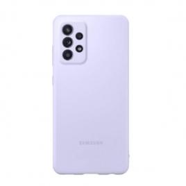 Funda Movil Back Cover Samsung Silcone Violet para Galaxy A52