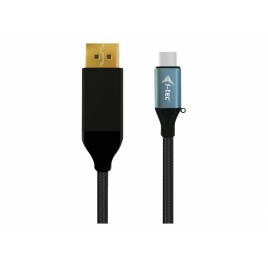 Cable I-TEC USB-C Macho / DisplayPort Macho 4K 1.5M Black