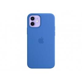 Funda iPhone 12 / 12 PRO Apple Leather Blue MagSafe