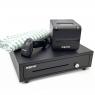 Impresora Tickets Approx Apppos80amuse Termico + Lector Barras Appls02as + Cajon Portamonedas Black