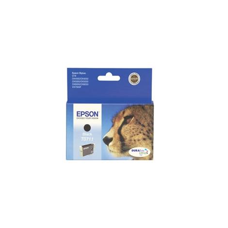 Cartucho Epson T0711 Black Stylus D78/D92/D120/Dx4000/Dx5000/Dx6000/Dx7400/Sx105/Bx300f
