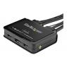 Conmutador KVM Startech 2X1 HDMI 4K 60HZ