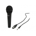 Microfono Mano Nedis KN-MIC25 6.5MM Cableado Black