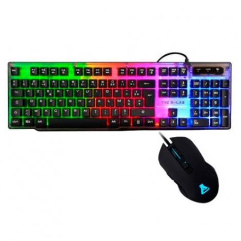 Teclado + Mouse G-LAB Xenon Teclado Keyz Neon + Mouse Kult Helium