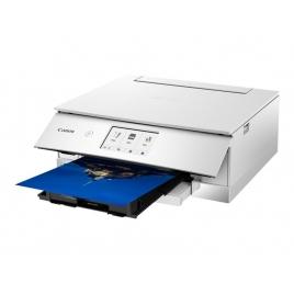 Impresora Canon Multifuncion Color Pixma TS8351 15IPM Duplex LAN WIFI White