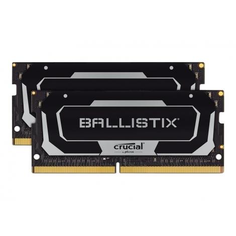 Modulo DDR4 16GB BUS 2666 Crucial Sodimm Ballistix KIT 2X8GB