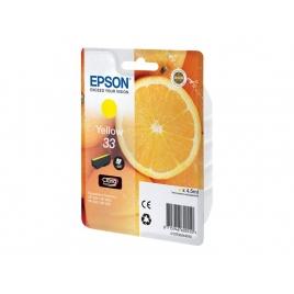 Cartucho Epson 33 Yellow Expression Home XP-63 830 Expression Premium XP-530