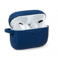 Funda Cool Silicona Soft Blue para Estuche Airpods PRO