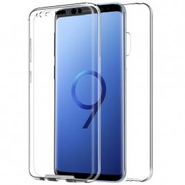 Funda Movil Back + Front Cover Cool Silicona 3D Transparente para Samsung S9 G960