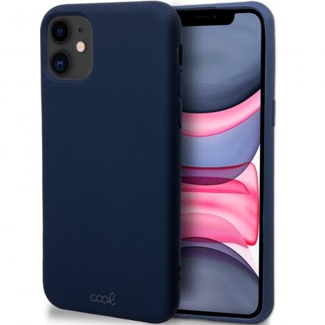 Funda Movil Back Cover Cool Silicona Cover Marine Blue para iPhone 11