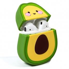 Funda Cool Silicona Soft Avocado para Estuche Airpods