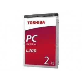 "Disco Duro 2TB 5400RPM Toshiba 2.5"" Sata"