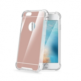 Funda Movil Back Cover Celly Armor Mirrow Pink para iPhone 7