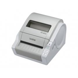 Impresora Brother Etiquetas Monocromo TD-4000 White