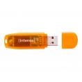 Memoria USB Intenso 64GB Rainbow Line Orange