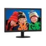 """Monitor Philips 23.6"""" FHD 243V5lhab 1920X1080 1ms VGA HDMI DVI-D MM Black"""