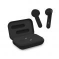 Auricular + MIC Unotec Bluetooth Twin X PRO Black