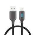 Cable Unotec Inteligente USB 2.0 Macho / Lightning Macho 1M Black