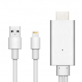 Cable Unotec Lightning Macho / HDMI Macho 2M
