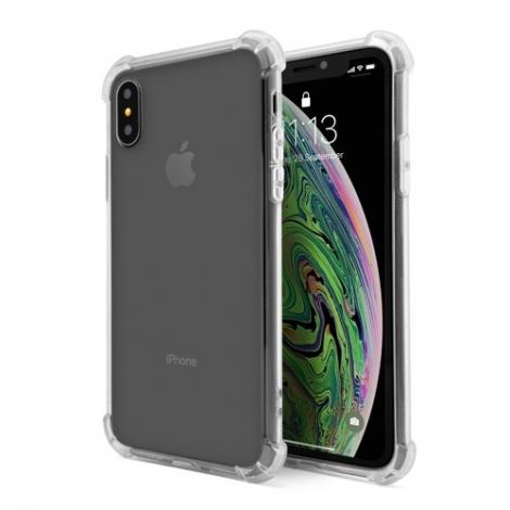 Funda Movil Back Cover Unotec TPU Shockproof Transparente para iPhone XS MAX