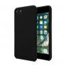 Funda Movil Back Cover Unotec TPU Soft Black para iPhone 7 / 8 / se