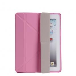 Funda Tablet Unotec Origami Pink para iPad 3 / 4
