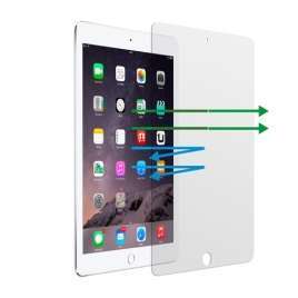 "Protector de Pantalla Unotec Cristal Templado para iPad AIR / AIR 2 / PRO 9.7"" / 2017 / 2018"
