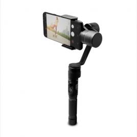 Soporte Unotec Estabilizador Electronico Gimbal para Smartphone Black
