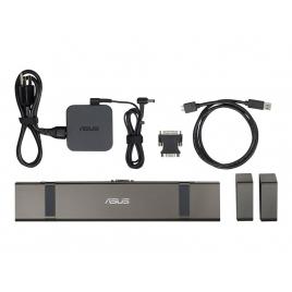 Puerto Replicador USB 3.0 Asus HDMI + RJ45 + DVI-I + 4Xusb 3.0 + USB-C + Jack