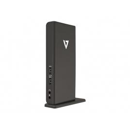 Puerto Replicador USB 3.0 V7 Hmdi + RJ45 + DP + DVI + 4Xusb 2.0 + 2Xusb 3.0 + Jack