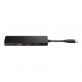 Puerto Replicador USB-C HP HDMI + USB 2.0 + USB 3.0