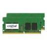 Modulo DDR4 16GB BUS 2400 Crucial Sodimm KIT 2X8GB