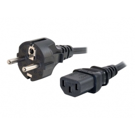 Cable Kablex Alimentacion CPU C13 / red Schuko 5M