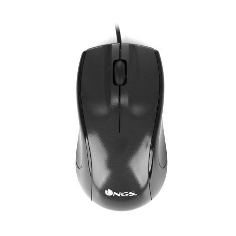 Mouse NGS Optical Mist 1000 DPI Black USB