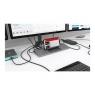 Puerto Replicador USB-C I-TEC HDMI + RJ45 + DP +VGA + USB 2.0 + 2Xusb 3.0 + USB-C + SD + Micro SD + Jack