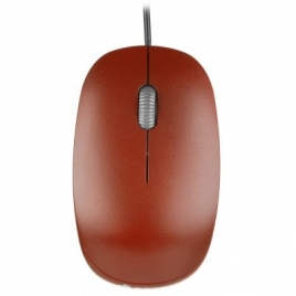 Mouse NGS Optical Flame 1000 DPI red USB