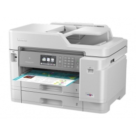 Impresora Brother Multifuncion Color MFC-J5945DW 22PPM A3 Duplex LAN WIFI NFC FAX White
