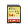 Memoria SD Sandisk 64GB UHS 3 Class 10 Extreme