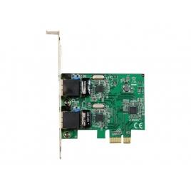 Tarjeta red Startech 2X 10/100/1000 PCIE LP
