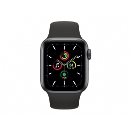 Apple Watch Serie se GPS 40MM Space Gray Aluminium + Correa Sport Black