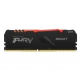 DDR4 16GB BUS 3600 Kingston CL17 Fury Beast Black KIT 2X8GB
